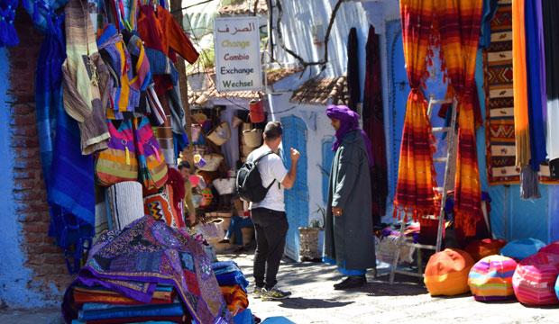 El zoco de Chaouen es el zoco de Marruecos perfecto para hacer esa compra que tienes pendiente