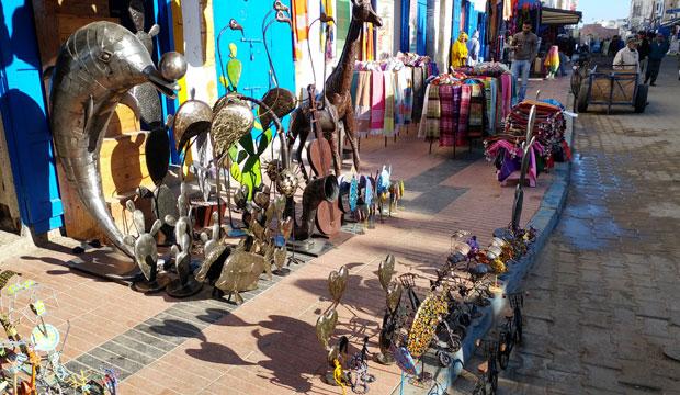 El zoco de Essaouira es el zoco de Marruecos más bohemio