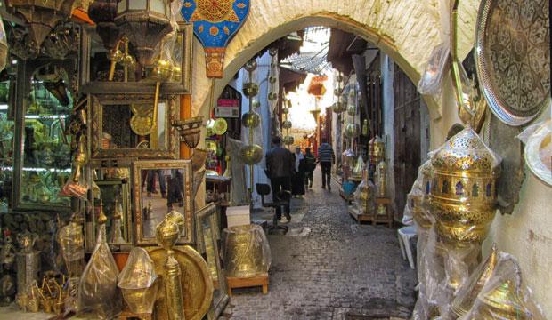 El zoco de Fez es el zoco de Marruecos con mayor número de zonas diferenciadas