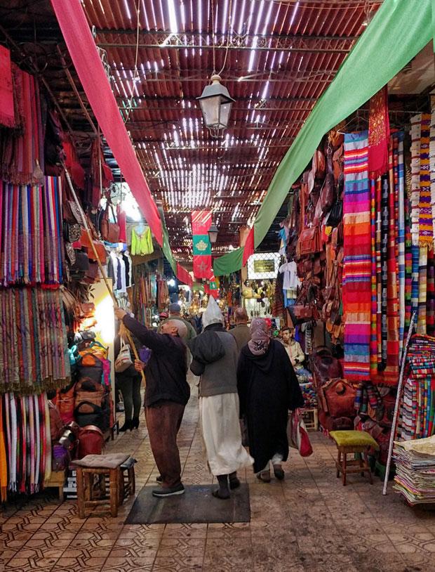 El zoco de Marrakech es considerado el mayor zoco de Marruecos
