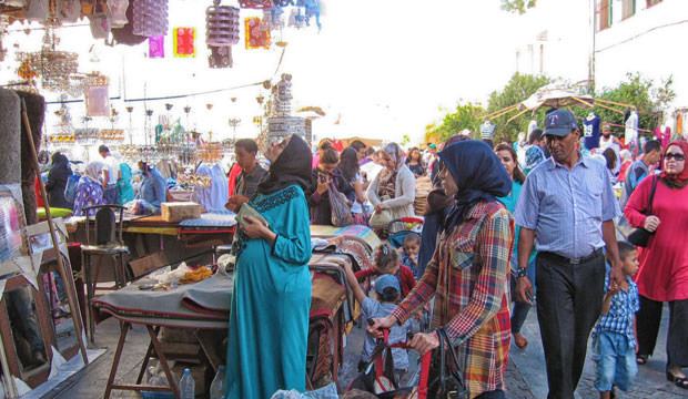 El zoco de Rabat es el zoco de Marruecos que mejor ha sabido mantener su esencia