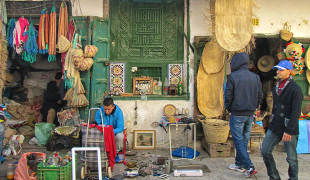 El zoco de Tetuán es un zoco de Marruecos capaz de trasladarte a otra época