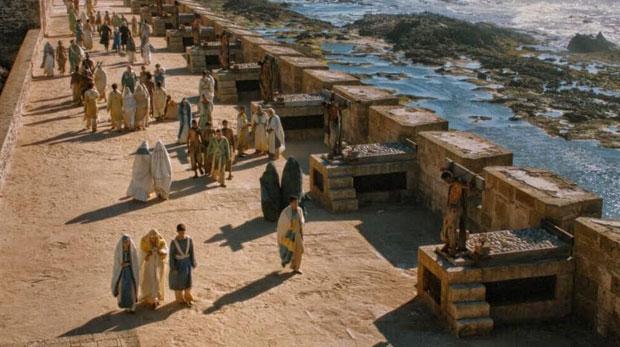 En Essaouira, conocida en Juego de Tronos como Astapor, la Madre de Dragones no solo conquista la ciudad, sino que además libera a todos los esclavos