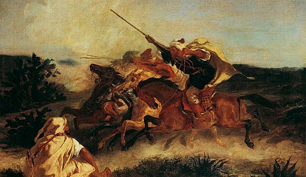 Eugene Delacroix y Marruecos. Fantasía árabe