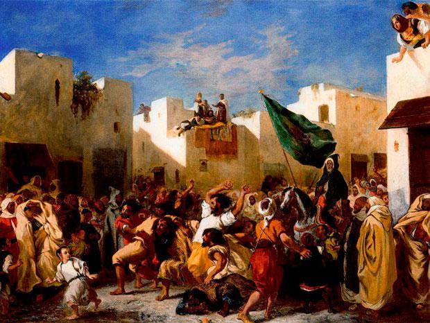 Eugene Delacroix y Tánger. Los convulsionados de Tánger