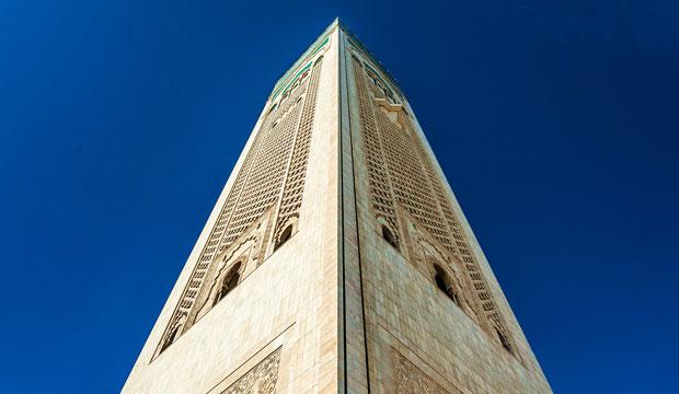La Mezquita de Hassan II se ha convertido en el mayor símbolo de Casablanca