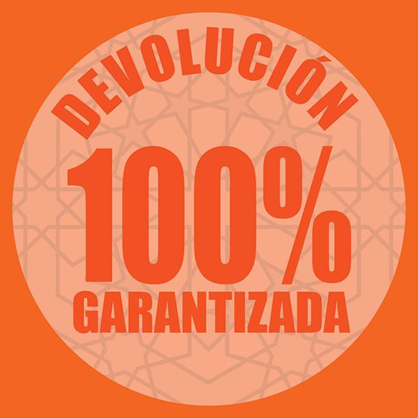 Devolución garantizada