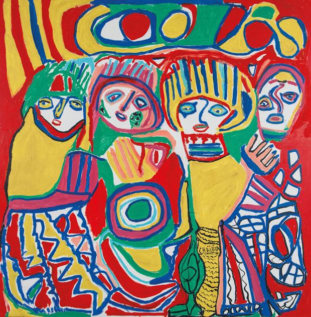 Chaïbia Talal es una artista contemporánea marroquí autodidacta