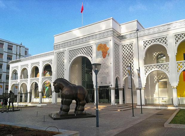 Museo de Arte Moderno Mohammed VI, inaugurado en 2011 en Rabat, fue quien dio el pistoletazo de salida al reconocimiento institucional del arte contemporáneo de Marruecos